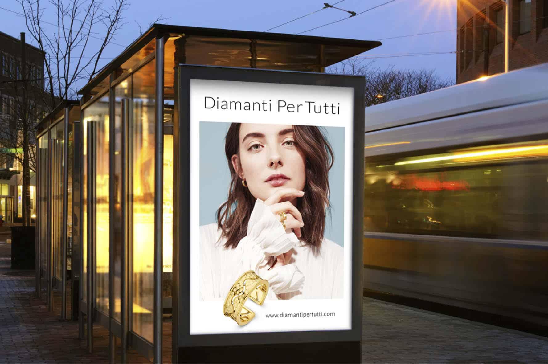 Outside advertising Diamanti Per Tutti