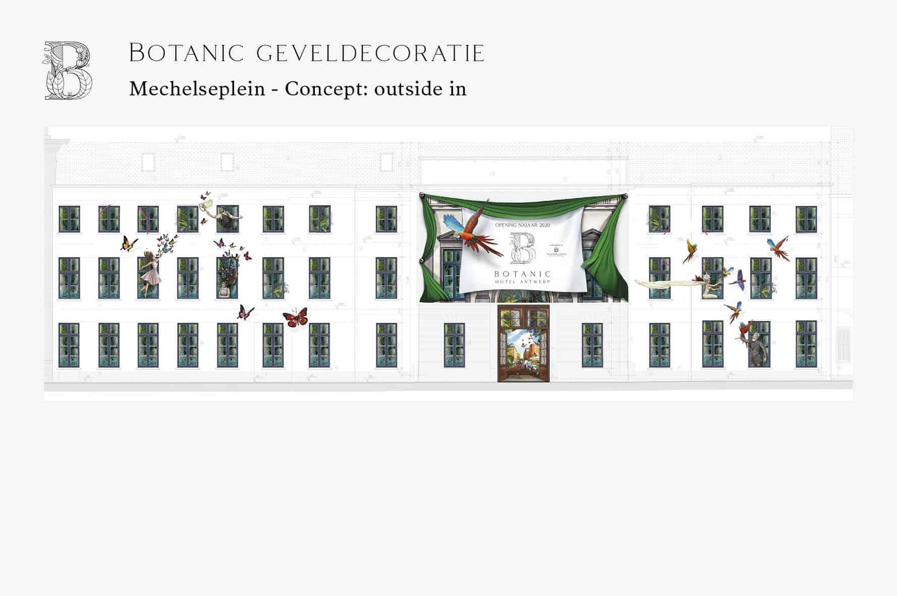 Onsite communication Botanic Antwerp