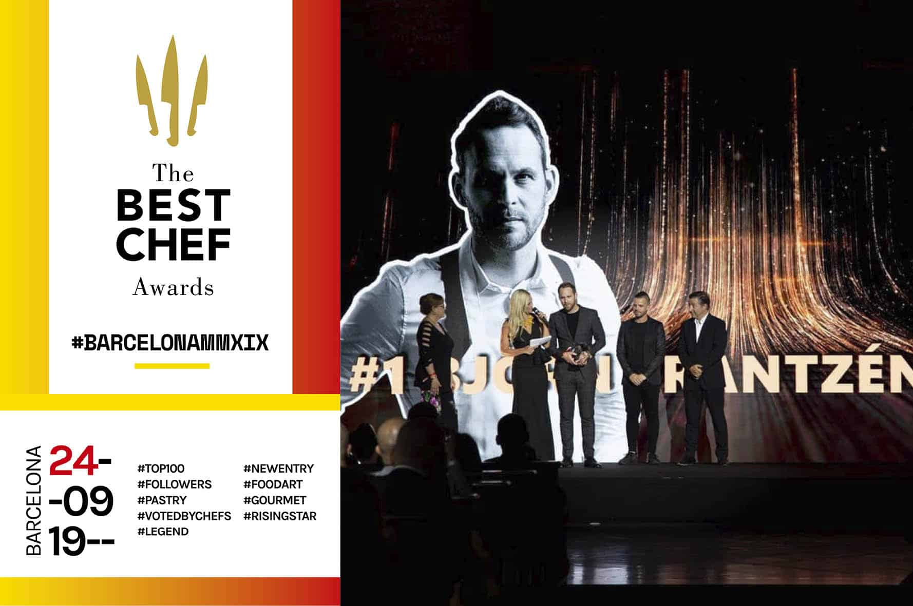 Graphic design The Best Chef Awards