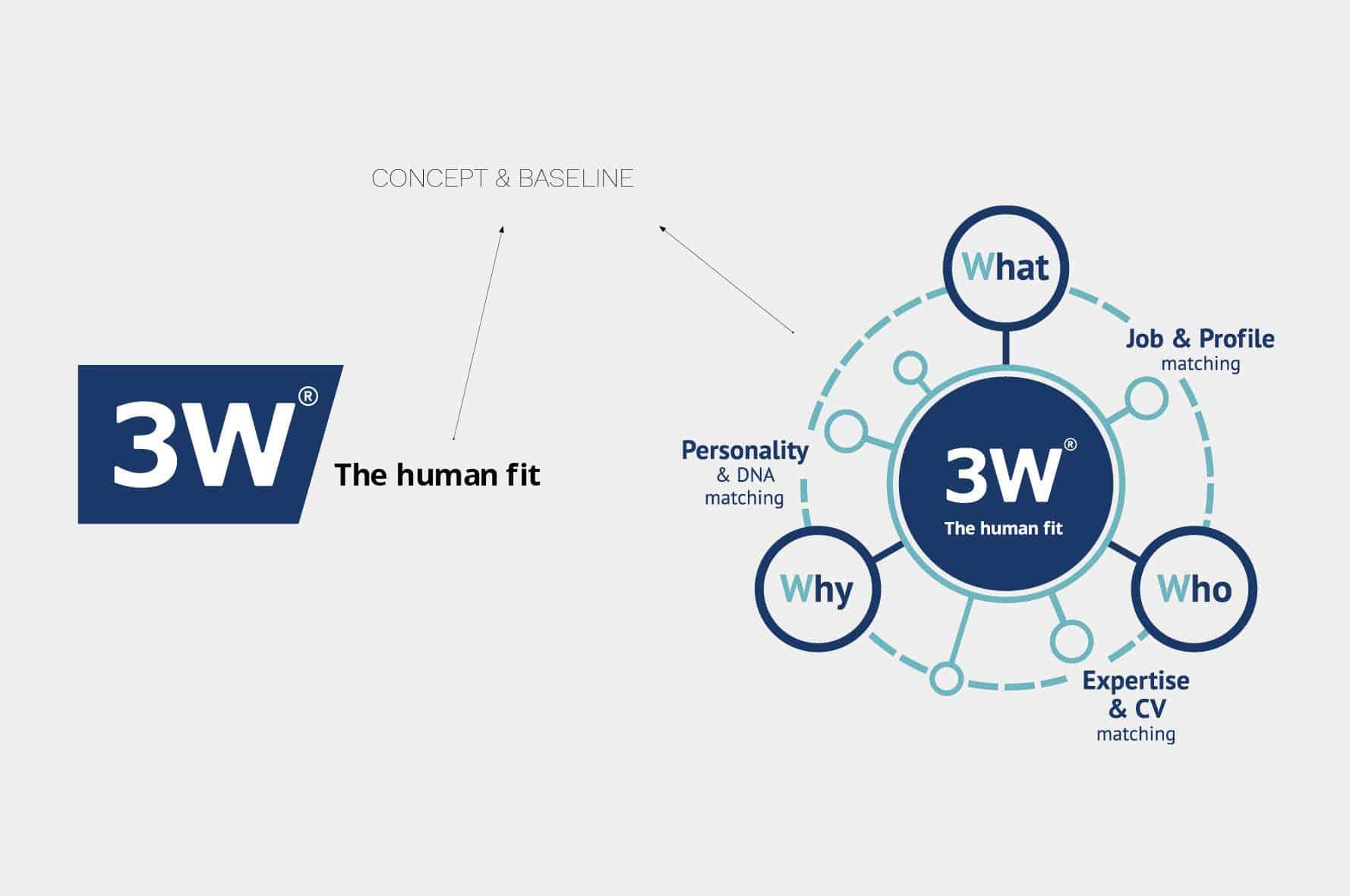 Concept & baseline, 3W